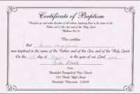 Baptism Certificate Templates For Word | Aspects Of Beauty throughout Christian Baptism Certificate Template