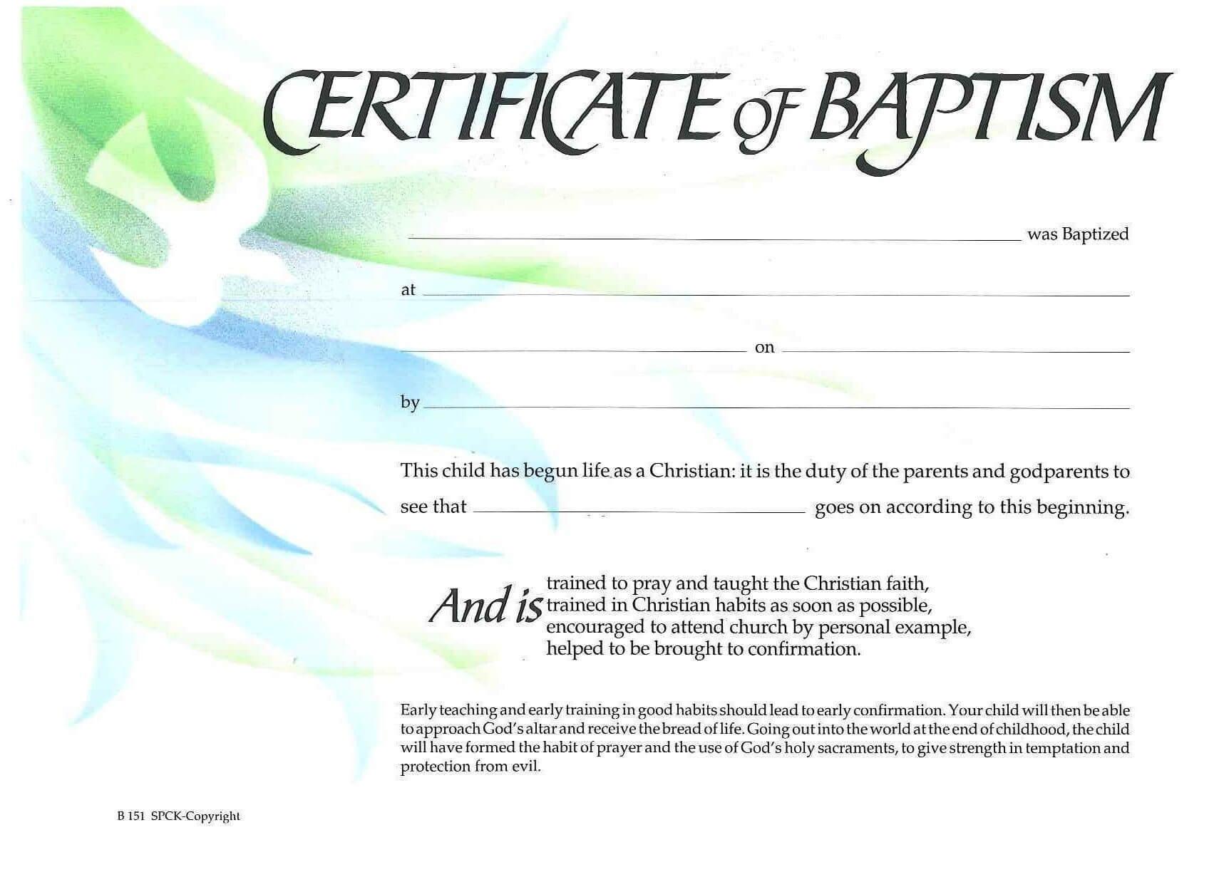 Baptism Certificate Xp4Eamuz | Certificate Templates, Baby regarding Christian Baptism Certificate Template