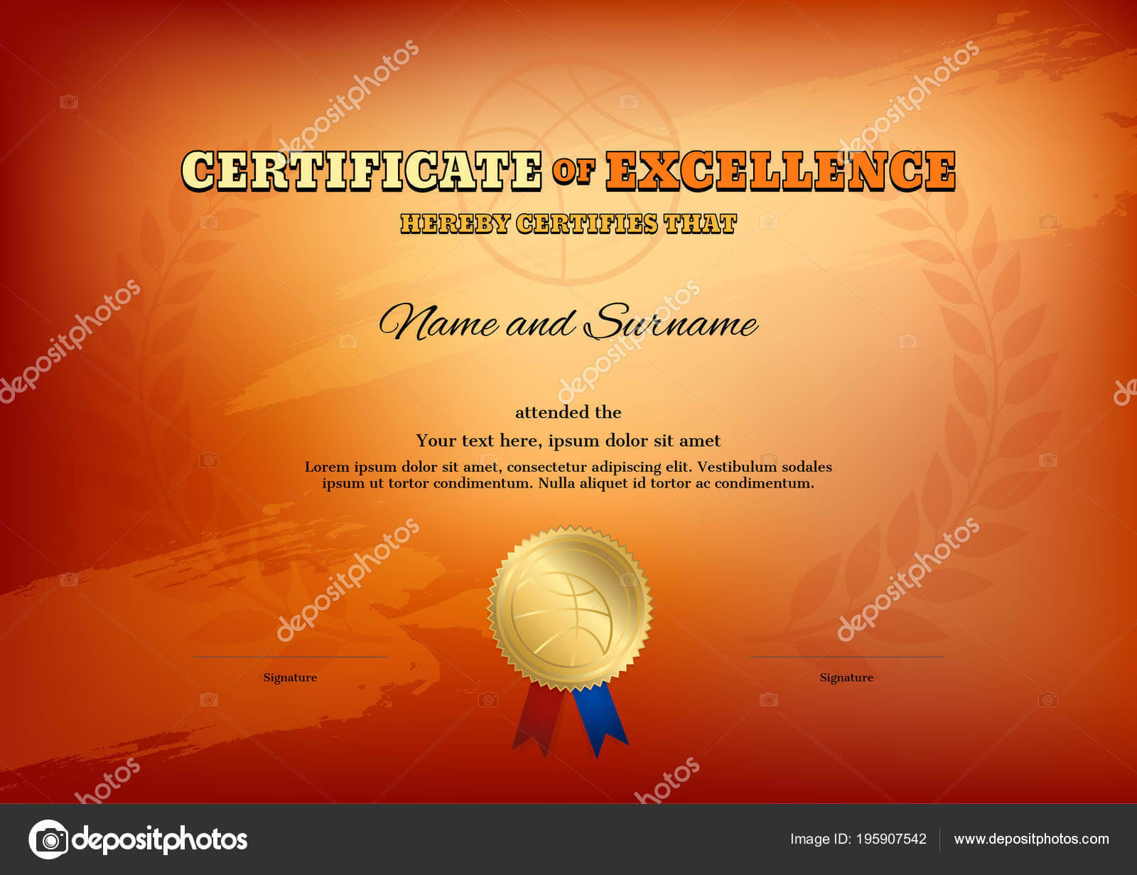 Basketball Camp Certificate Template | Certificate Template In Basketball Camp Certificate Template