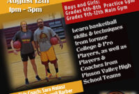 Basketball Camp Flyer Template – Yupar.magdalene-Project for Basketball Camp Brochure Template