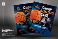 Basketball Camp Flyer Templates #inches#letter#placing with regard to Basketball Camp Brochure Template