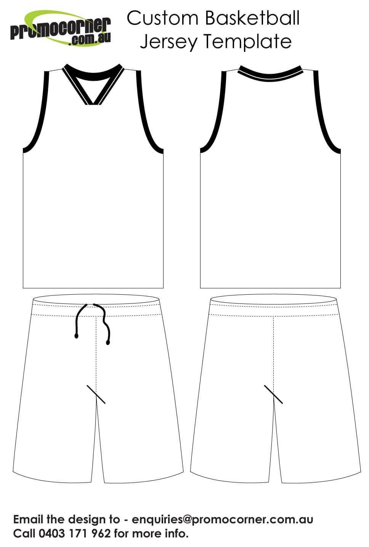 Basketball Jersey Template | Dromibi.top | Basketball Jersey For Blank Basketball Uniform Template