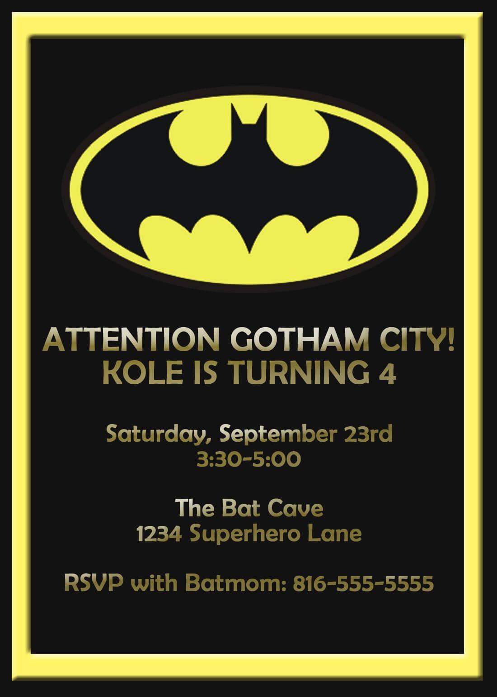 Batman Birthday Card Template - Google Search | Card Shop In Batman Birthday Card Template