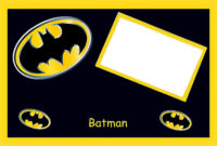 Batman Birthday: Free Printable Cards Or Invitations. – Oh for Batman Birthday Card Template