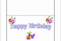 Beautiful 10 Free Microsoft Word Greeting Card Templates in Birthday Card Template Microsoft Word