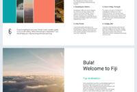 Beautiful Travel Guide Brochure Template – Flipsnack inside Travel Guide Brochure Template