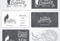 Beauty Salon Business Card Templates With for Hairdresser Business Card Templates Free