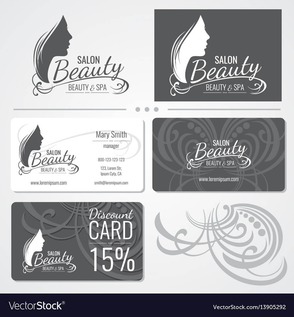 Beauty Salon Business Card Templates With inside Hair Salon Business Card Template