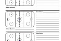 Bedford Minor Hockey Association Hockey Poweredgoalline.ca intended for Blank Hockey Practice Plan Template