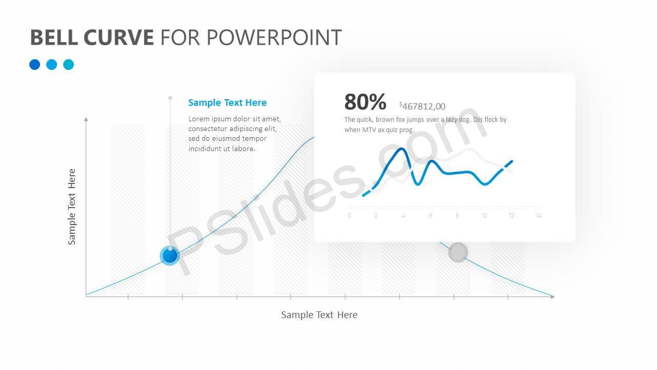 Bell Curve For Powerpoint - Pslides throughout Powerpoint Bell Curve Template