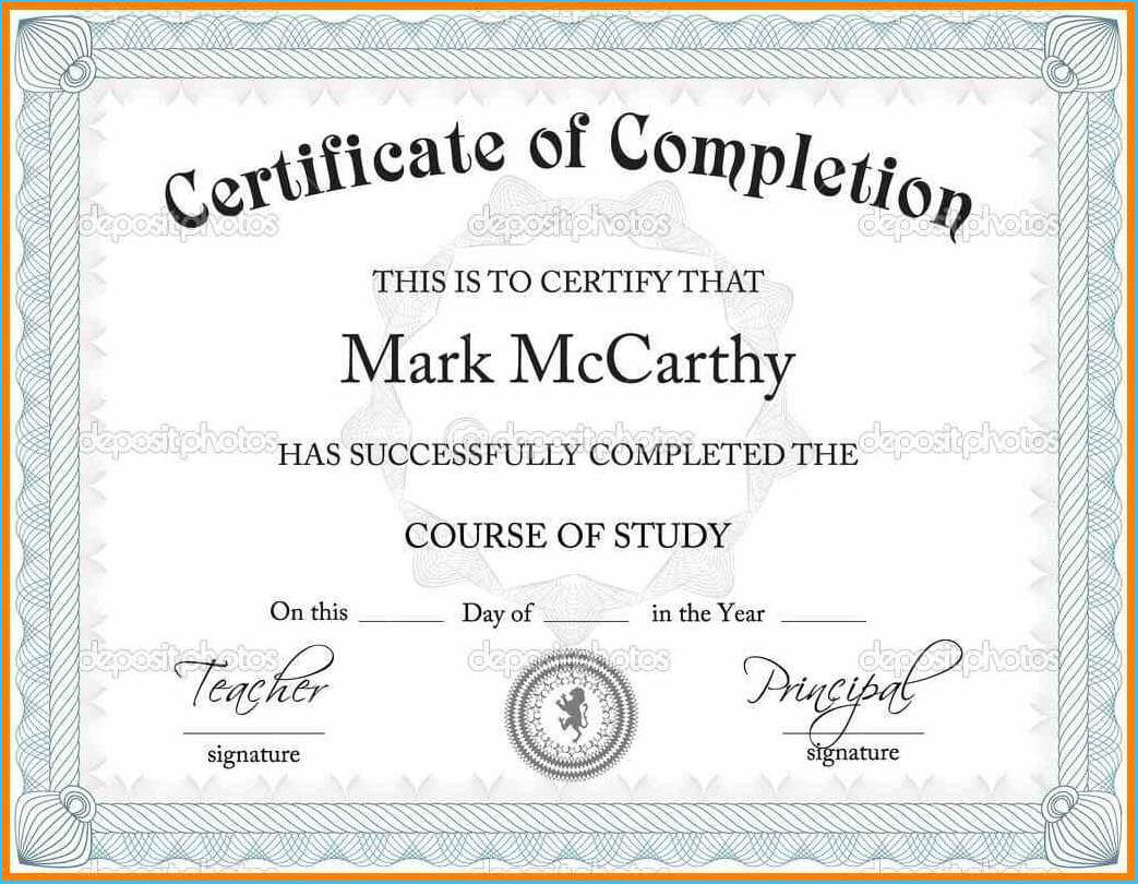 Best Certificate Templates Free Download As An Extra Ideas pertaining to Blank Certificate Templates Free Download