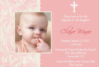 Best-Font-For-Christening-Invitation | Invitations throughout Baptism Invitation Card Template