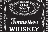 Best Jack Daniels Label Whiskey Cake Photos | Geekchicpro With Regard To Blank Jack Daniels Label Template