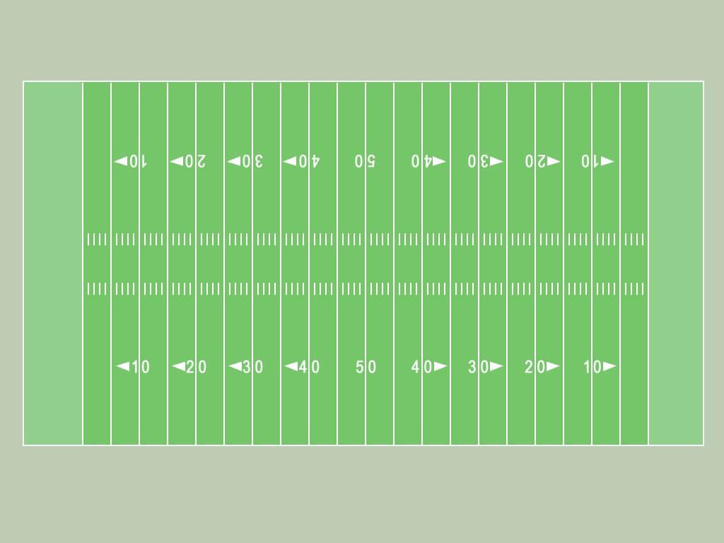 Best Photos Of Blank Football Field Template - Football intended for Blank Football Field Template
