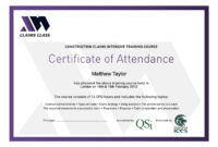 Best Photos Of Conference Attendance Certificate Template with regard to Certificate Of Attendance Conference Template