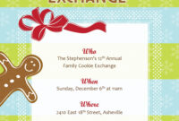 Best Photos Of Cookie Exchange Sign Up Template – Christmas regarding Cookie Exchange Recipe Card Template