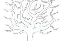 Best Photos Of Large Tree Template – Large Blank Family Tree pertaining to Blank Tree Diagram Template