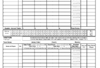 Best Photos Of Printable Score Sheets – Printable Basketball throughout Bridge Score Card Template