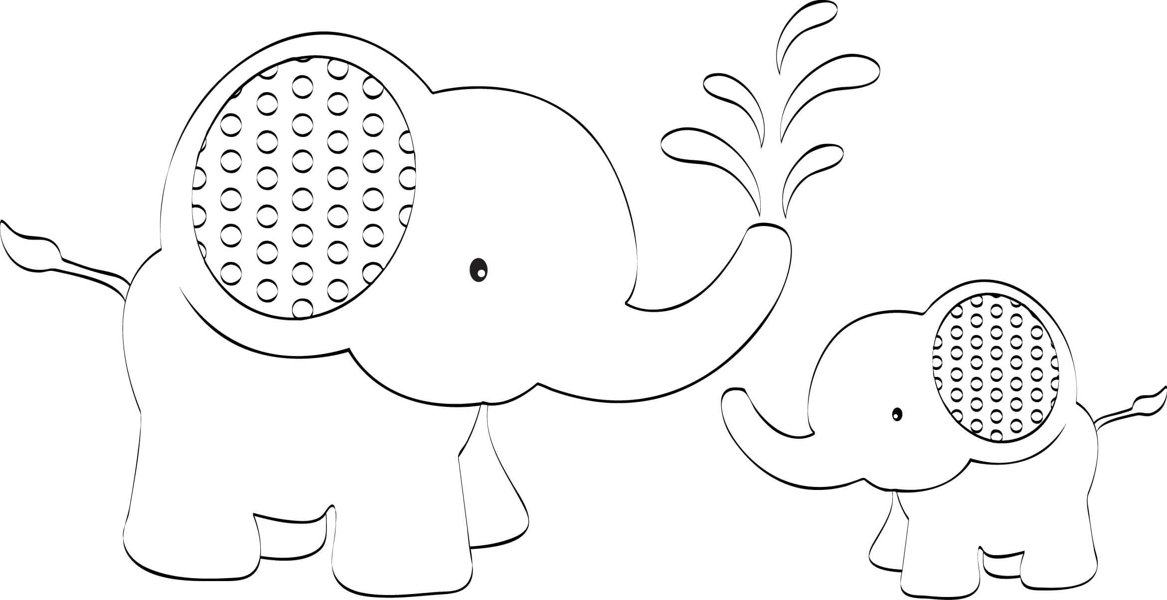 Best Photos Of Template Of Elephant – Elephant Outline Clip Regarding Blank Elephant Template