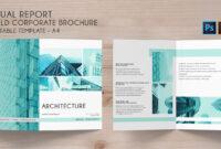 Bi-Fold Brochure Annual Conference – 4 Template in Brochure 4 Fold Template