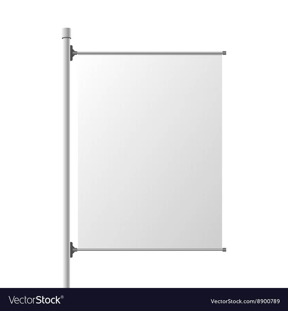 Big Street Banner Realistic Template With Regard To Street Banner Template