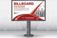 Billboard Banner Template Vector Design, Advertisement in Outdoor Banner Template