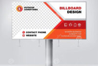 Billboard Design, Template Banner For Outdoor Advertising with Outdoor Banner Design Templates