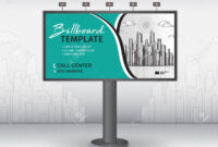 Billboard Design Vector, Banner Template, Advertisement, Realistic.. for Outdoor Banner Template