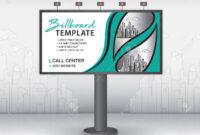 Billboard Design Vector, Banner Template, Advertisement, Realistic.. regarding Outdoor Banner Template