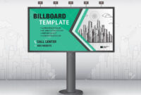 Billboard Design Vector, Banner Template, Advertisement, Realistic.. within Outdoor Banner Design Templates