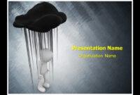 Black Cloud Depression Powerpoint Template Ppt Design within Depression Powerpoint Template