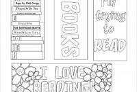 Blank Bookmark Template, Bookmark Template | Free Printable with Free Blank Bookmark Templates To Print