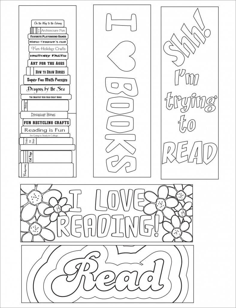 Blank Bookmark Template, Bookmark Template | Free Printable With Free Blank Bookmark Templates To Print
