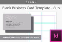 Blank Business Card Indesign Template Regarding Birthday Card Template Indesign