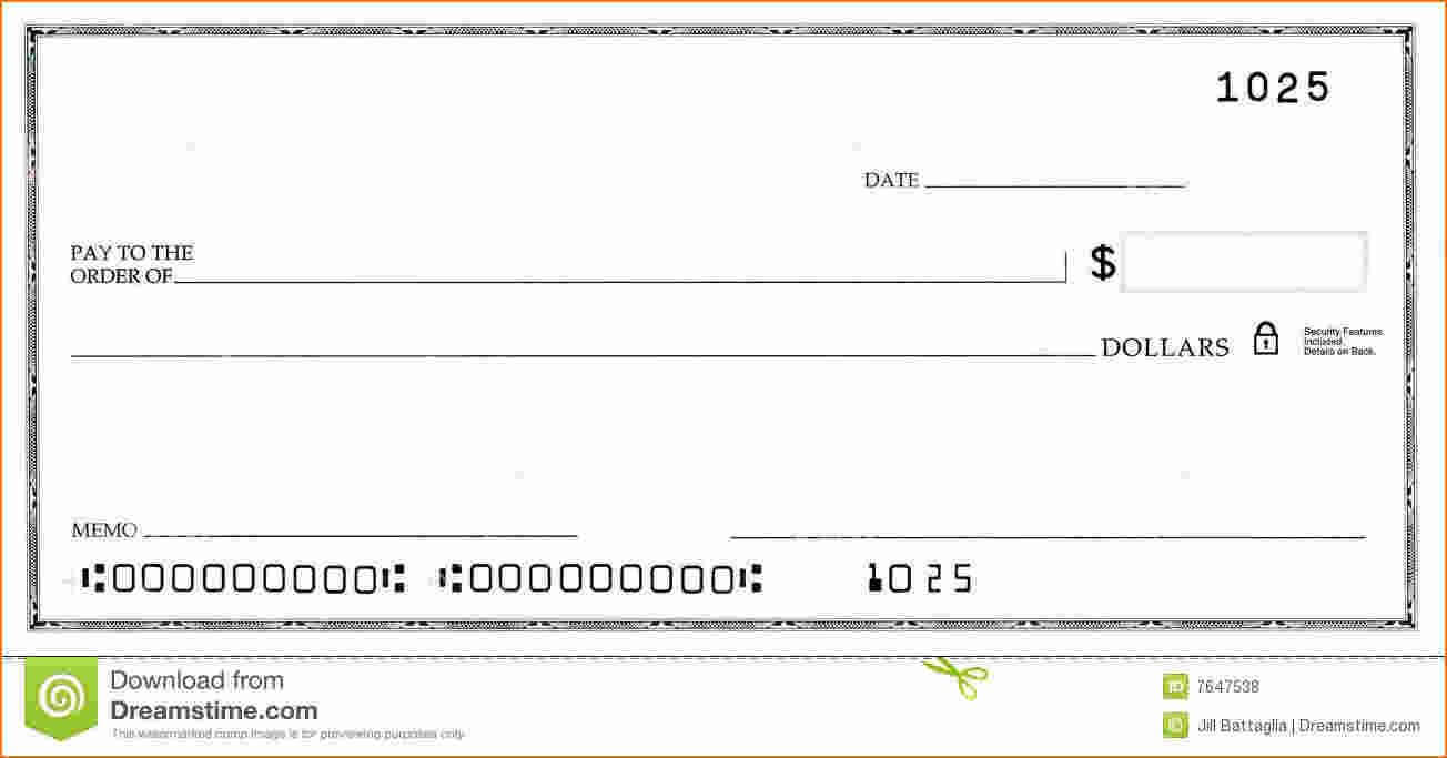 Blank Business Check Template | Template | Business Checks inside Blank Cheque Template Uk