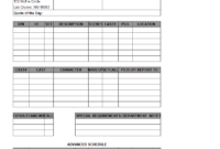 Blank Call Sheet Template - Atlantaauctionco with Blank Call Sheet Template