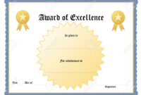 Blank Certificate Forms Gift Certificate Template Free regarding Blank Certificate Templates Free Download