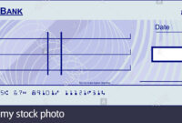 Blank Cheque Stock Photos & Blank Cheque Stock Images – Alamy with Blank Cheque Template Uk