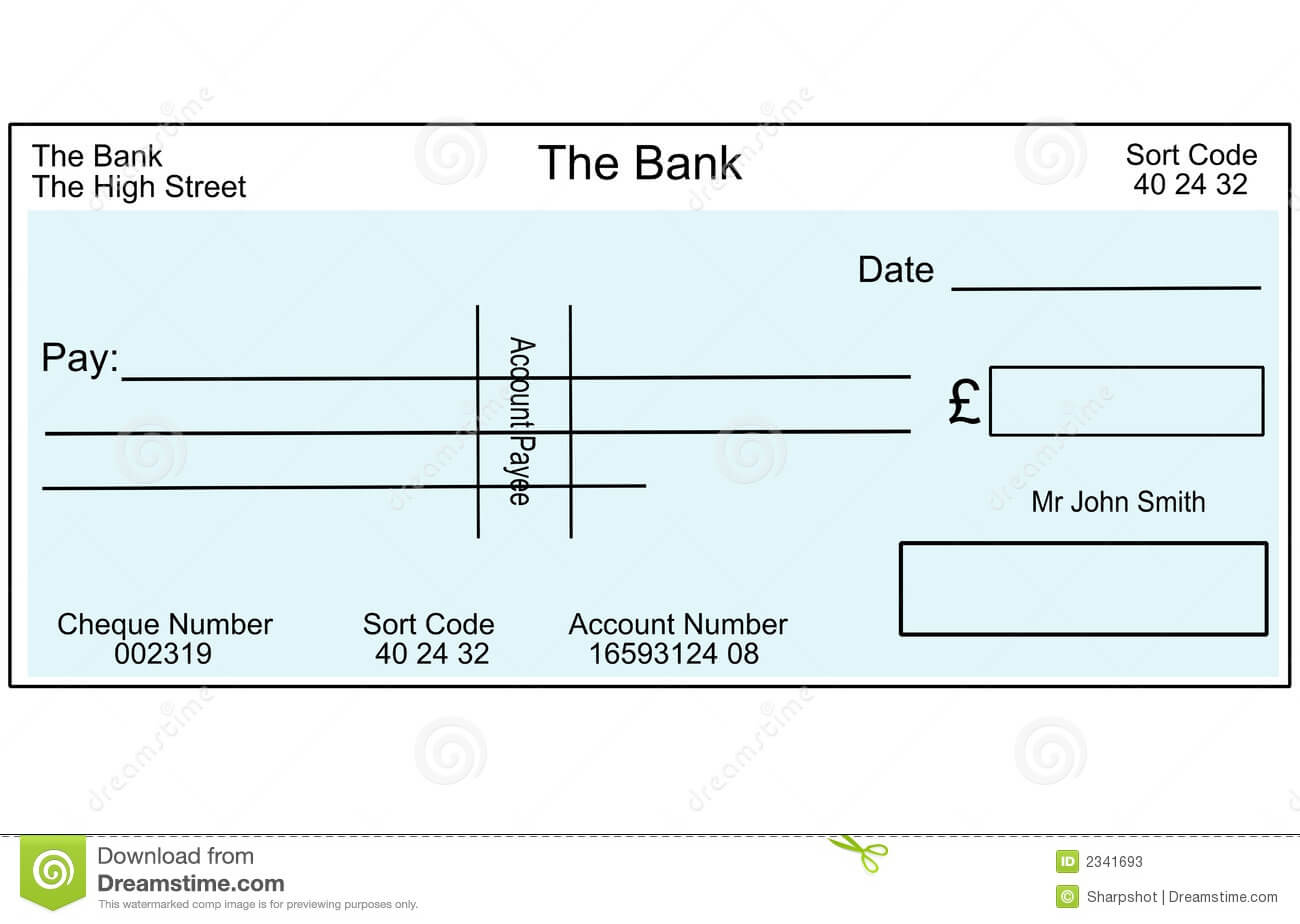 Blank Cheque Template Uk - Atlantaauctionco for Blank Cheque Template Download Free