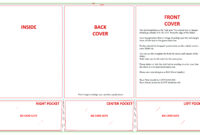 Blank Design Templates for Tri Fold Tent Card Template