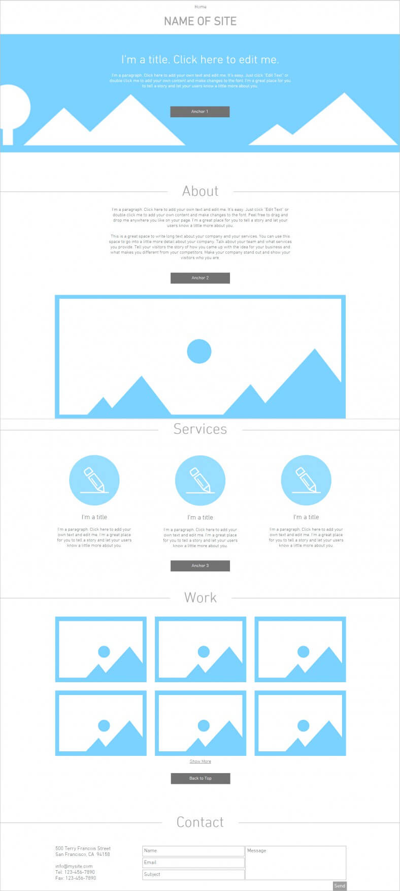Blank Html5 Website Templates & Themes | Free & Premium Within Html5 Blank Page Template
