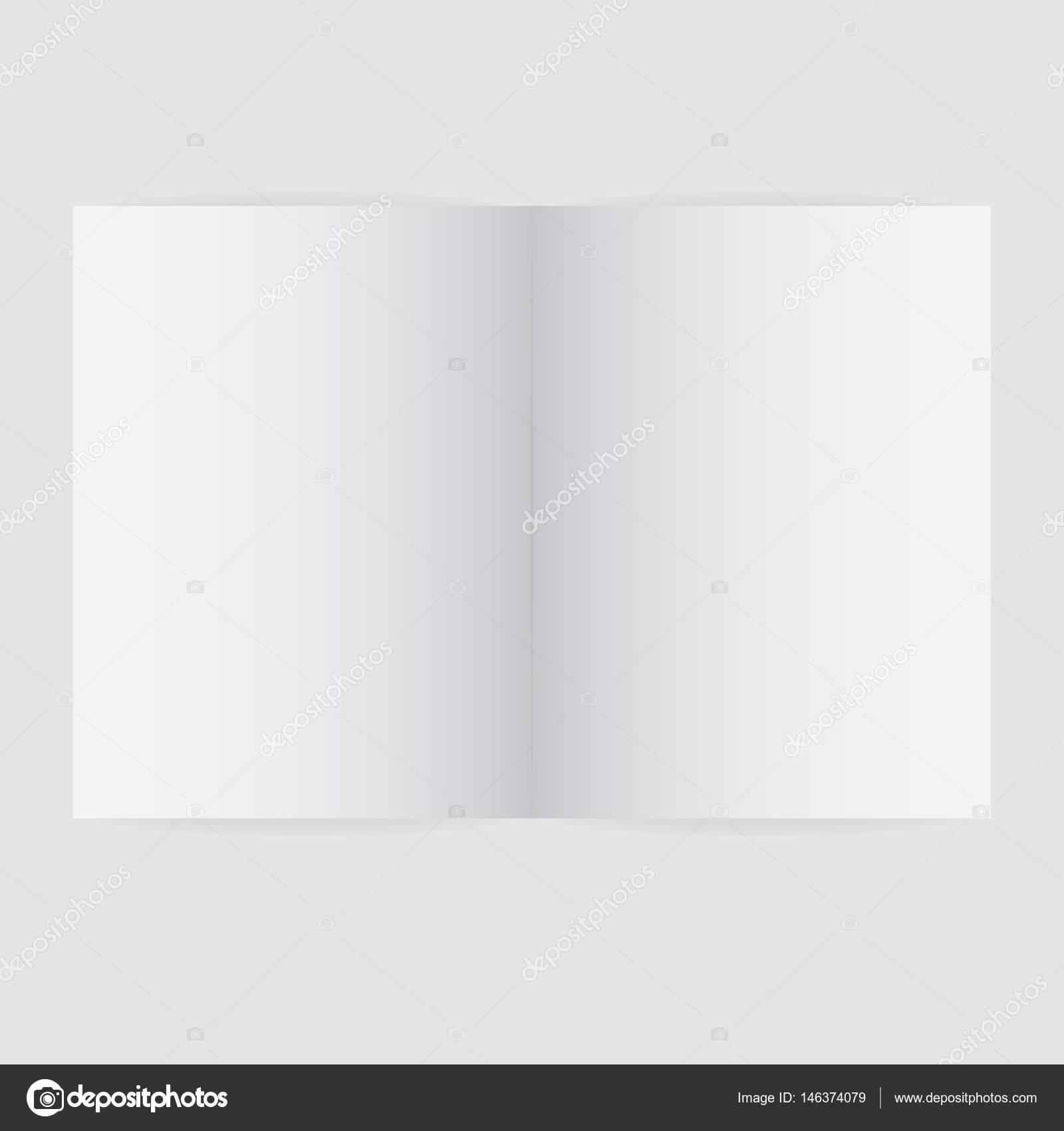 Blank Magazine Spread Template | Blank Magazine Spread regarding Blank Magazine Spread Template