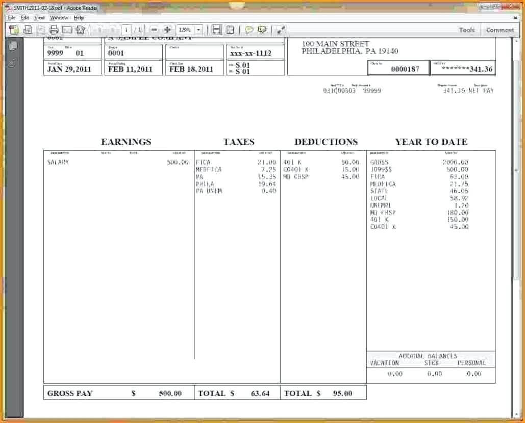 Blank Pay Stub Template Word – Wovensheet.co regarding Blank Pay Stub Template Word