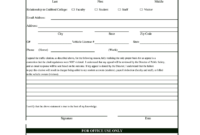 Blank Police Tickets To Print – Fill Online, Printable for Blank Parking Ticket Template