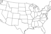 Blank Printable Map Of The Us Clipart Best Clipart Best pertaining to United States Map Template Blank