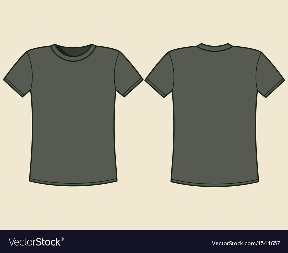 Blank T-Shirt Template inside Blank Tshirt Template Pdf
