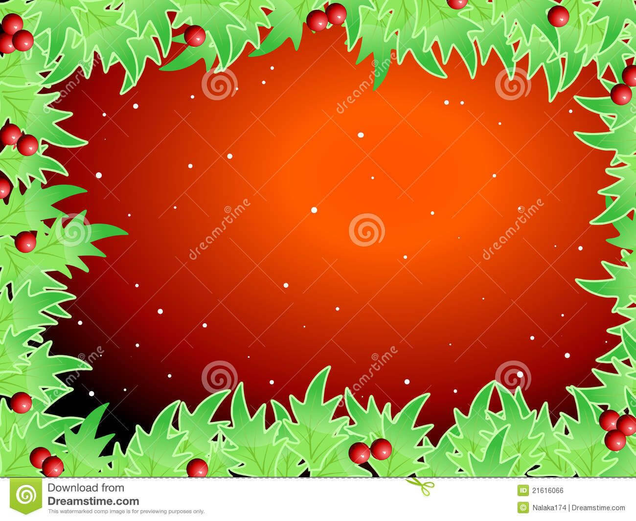 Blank Template For Christmas Greetings Card Royalty Free For Blank Christmas Card Templates Free
