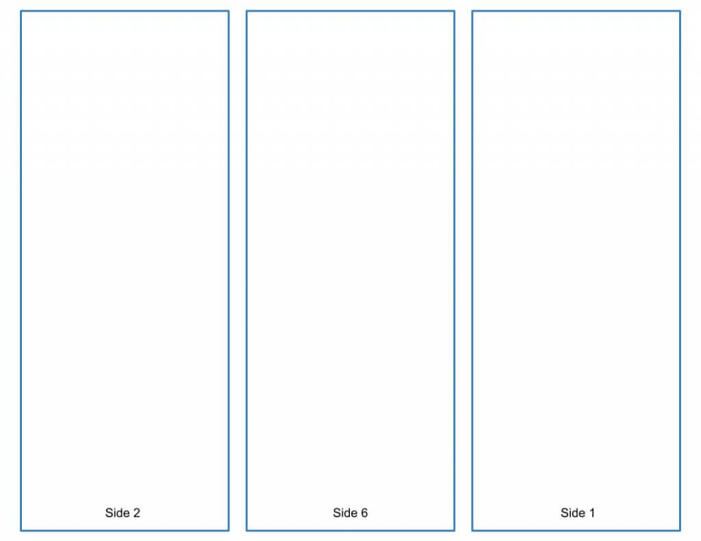 Blank Tri Fold Brochure Template - Google Slides Free Download Within Tri Fold Brochure Template Google Docs