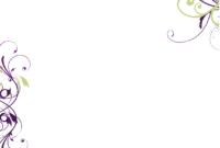Blank Wedding Invitation Templates | Signaturessarah intended for Blank Templates For Invitations