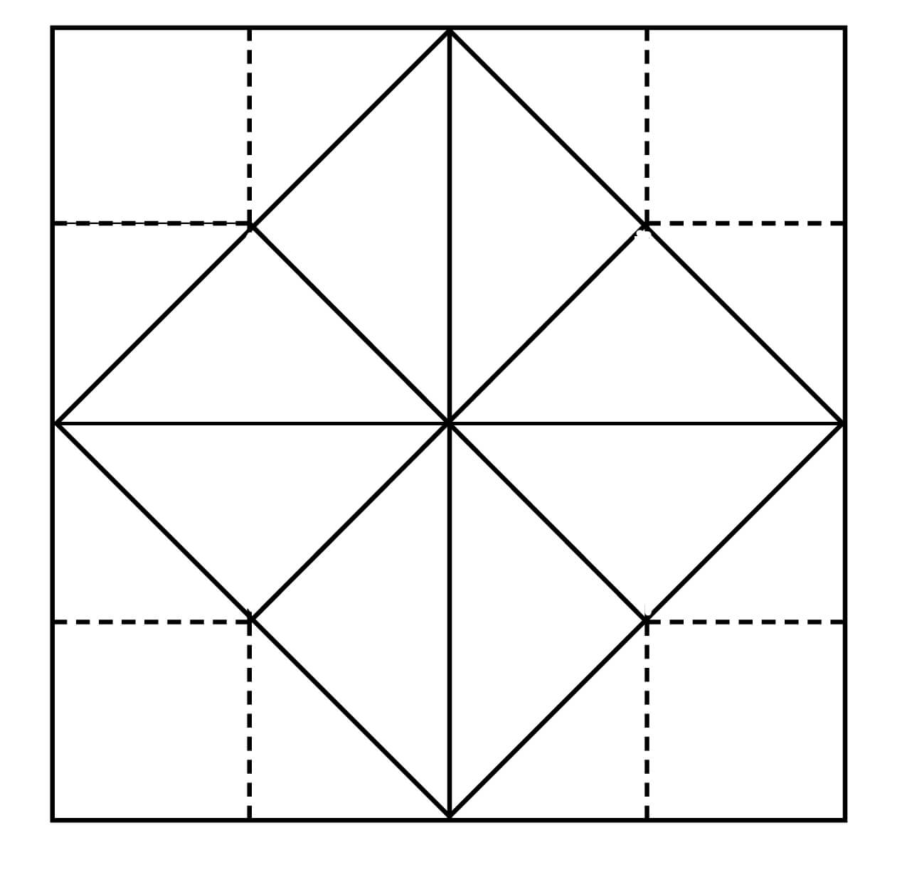 Blank+Origami+Fortune+Teller+Template | Origami Fortune Inside Blank Pattern Block Templates